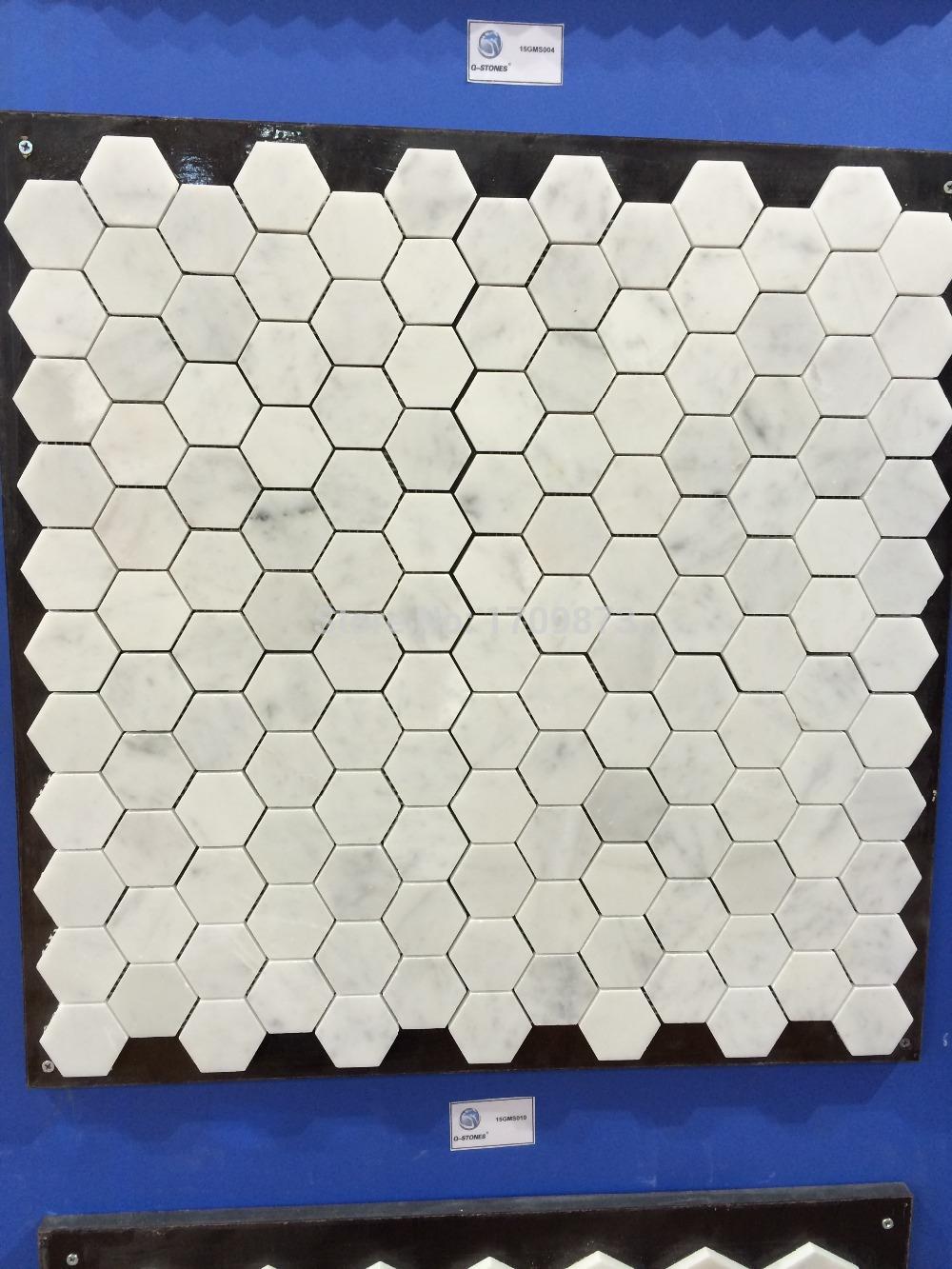 Mosaic Tile Wall Tiles Floor Tiles White Marble Mosaic