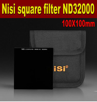 Free Shipping NiSi ND filter 100mm ND32000 Square filter grey filter Optical Glass ND32000