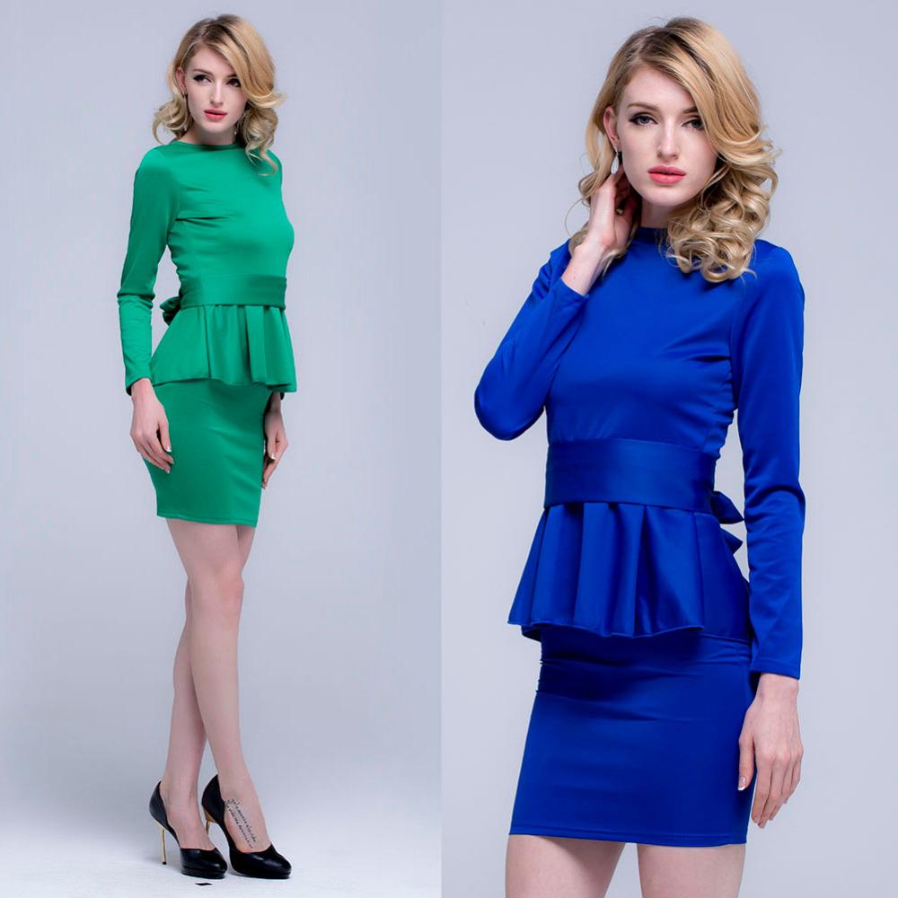 Женское платье Women Dresses 2 Piece Vestidos Femininos Vestido 81342