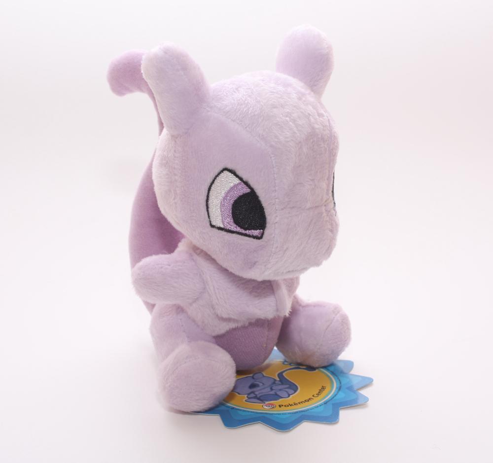 17cm Pokemon Plush Toys Mew Cute Soft Stuffed Animals Toy Figure Collectible Doll Children Christmas Gift(China (Mainland))