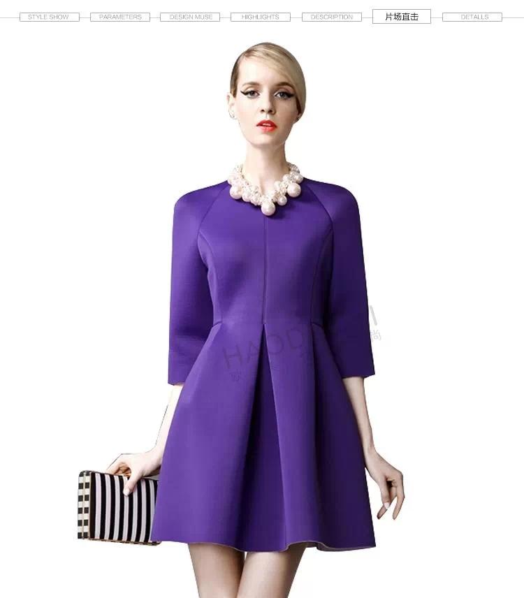 Retro Purple Dress Purple Dress Hy142518441