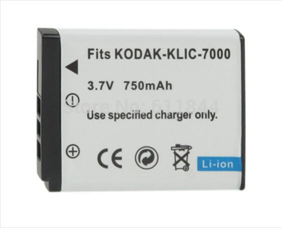 wholesale KLIC-7000 Battery for KODAK Digital Camera 1pcs/lot(China (Mainland))