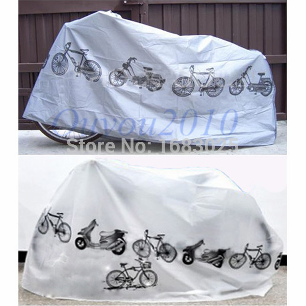 New High Quality Mountain Road Folding Bicycle Cycling Rain Dust Cover Bike Waterproof Garage Outdoor Scooter Protector(China (Mainland))