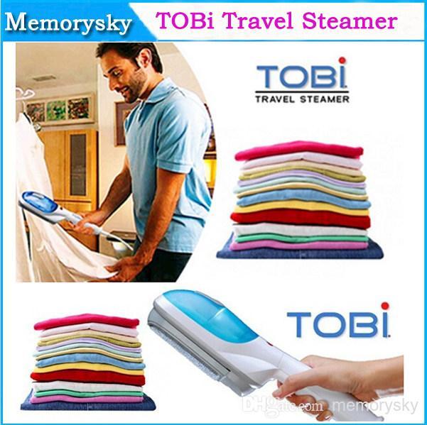 2014 Newest Bi Multifunction Travel Handheld/Portable Steamer Dry Brush Tobi Garment 110v/220v 002649,(China (Mainland))
