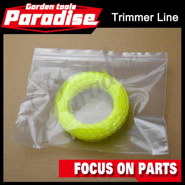 Комплектующие к инструментам PARADISE 2.4 * 10 Hexgon /strimmer Nylon Grass  trimmer line mini garden nylon grass trimmer line light purple 15m
