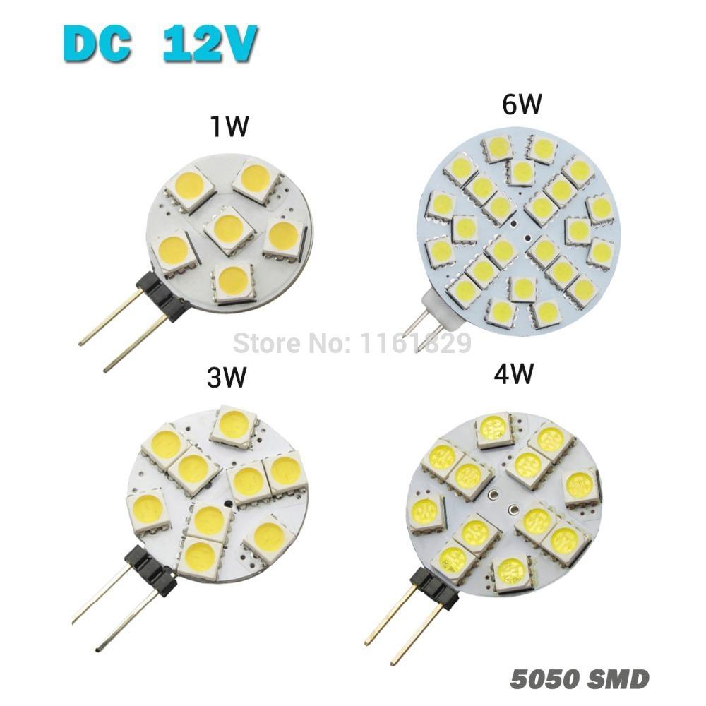 Светодиодная лампа Oem 2015 1 G4 DC 12V 1W 3W 4W 6w Droplight 5050SMD клаксон oem 12v 3 22 air raid