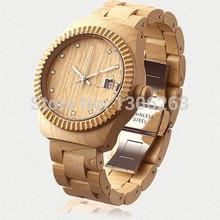 Мода Bewell новинка вуд часы высокое качество японский 2115 движение сандалового дерева наручные часы бесплатный / прямая поставка