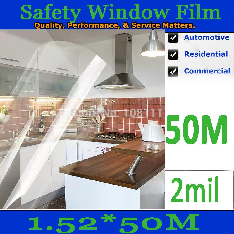 Защита от солнца для заднего стекла авто HOOOOOO & 1.52 * 50 5 * 164 ft/2mil /sp/02