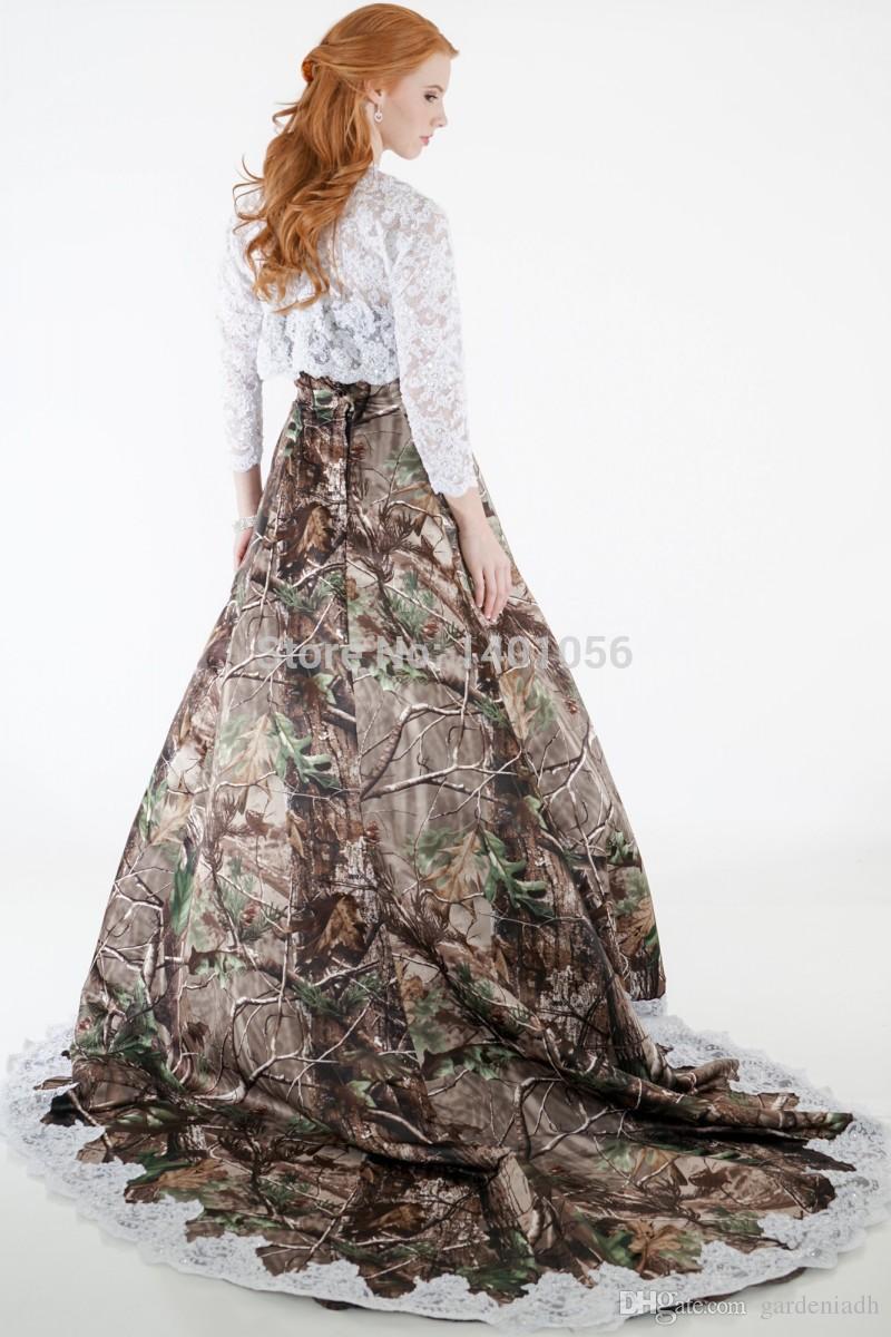 Winter Wedding Western Dresses 82