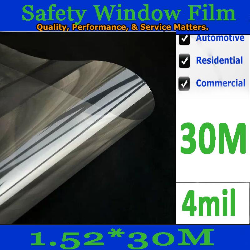 Защита от солнца для заднего стекла авто HOOOO 1.52 * 30 /4mils