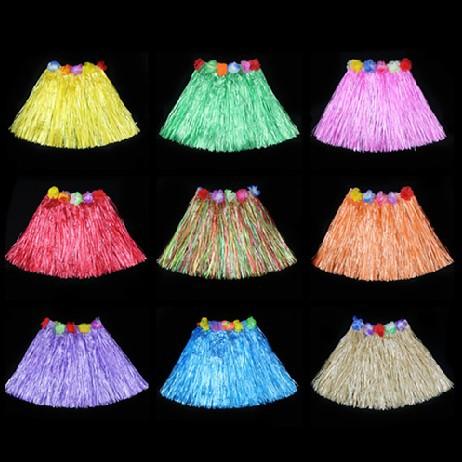Гавайские юбки из пакетов видео