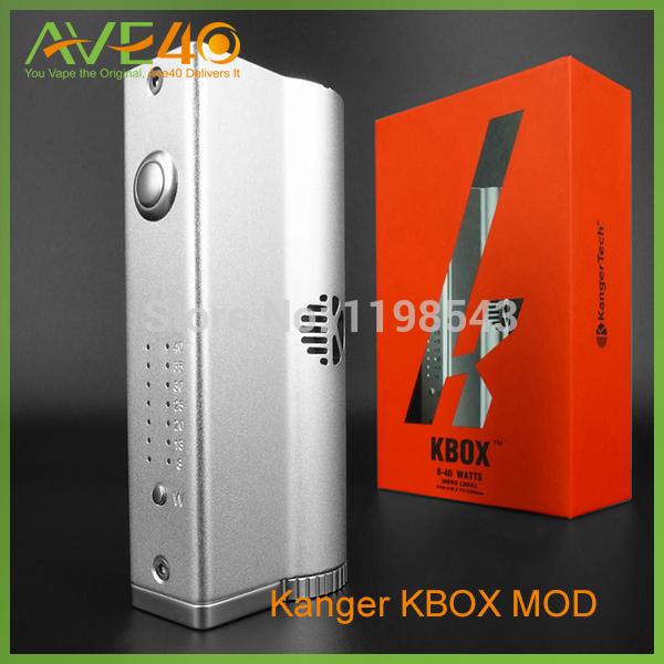 100% Kangertech KBOX 8w/40w Kanger KBOX e 18650 nano subtank subtank ave40 kanger electronic cigarette kanger kbox 8 40w kanger subtank nano 3 0ml with trustfire 18650 battery and one bay charger