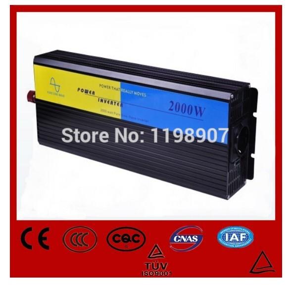 Hot sell 2000w pure sine wave power inverter 48v to 220v 3KW Solar inverter(China (Mainland))