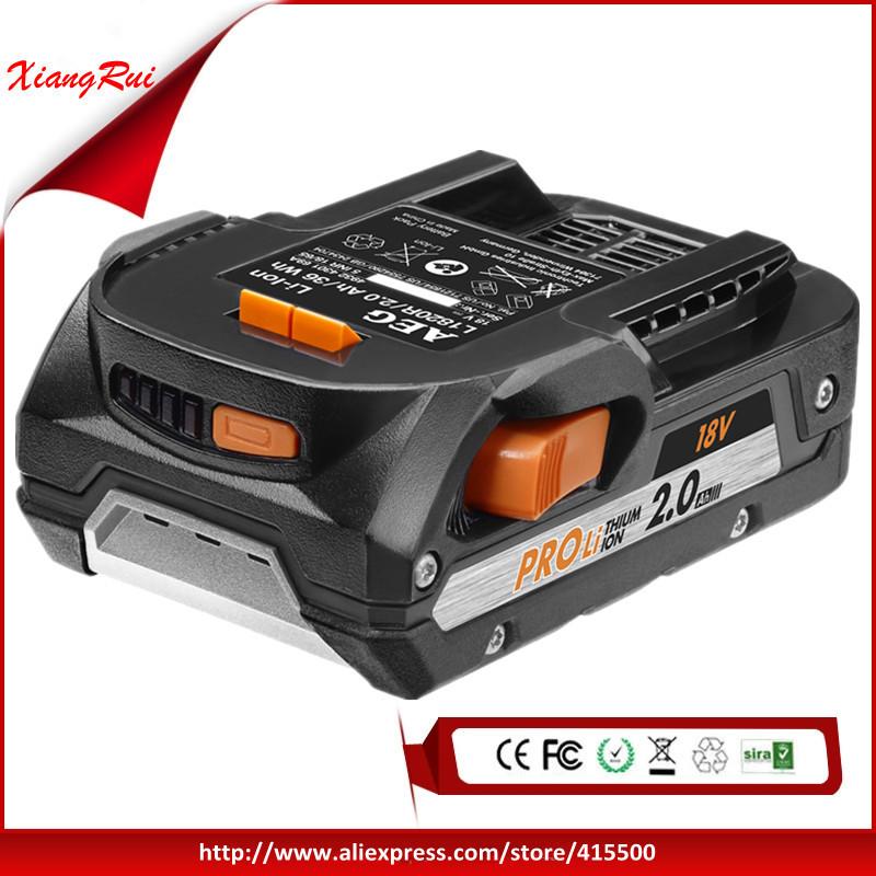 Genuine 2.0Ah 18V Power Tool Battery For Ridgid /AEG Ultra High