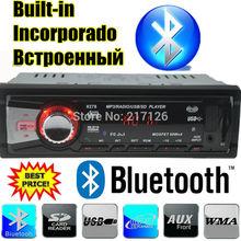 2015 новый 12 В стерео автомобильный радиоприемник Bluetooth MP3 аудио плеер со встроенным Bluetooth USB SD MMC порт автомобильная электроника в тире 1 DIN
