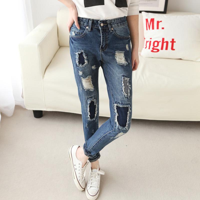 Женские джинсы Jeans DK ] BF , #0233 женские джинсы women jeans dk ] 2015 0165
