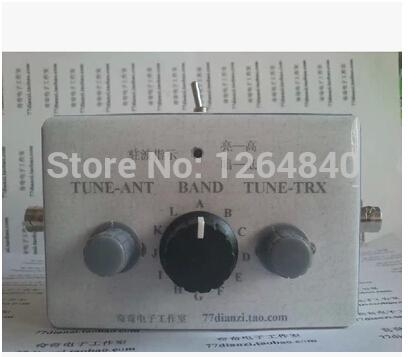 1-30 Mhz Manual Antenna Tuner kit for HAM RADIO QRP DIY Kit Q9 BNC interface(China (Mainland))