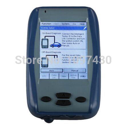 XQautopart 1pc Toyota Tester II V2015.02 Toyota Denso Intelligent Tester IT2 Oscilloscope diagnose programming tool Toyota IT2(China (Mainland))
