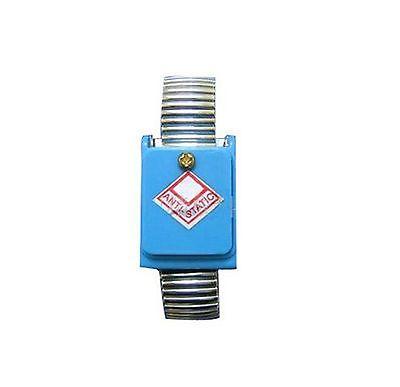 metal antistatic wrist strip, silver color loop, wireless x 1(China (Mainland))