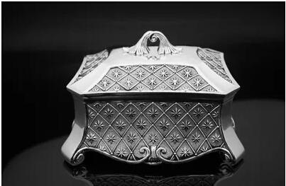 large Classical European Gothic Eternity Rose Princess metal jewelry box keepsake souvenir box case Z010(China (Mainland))