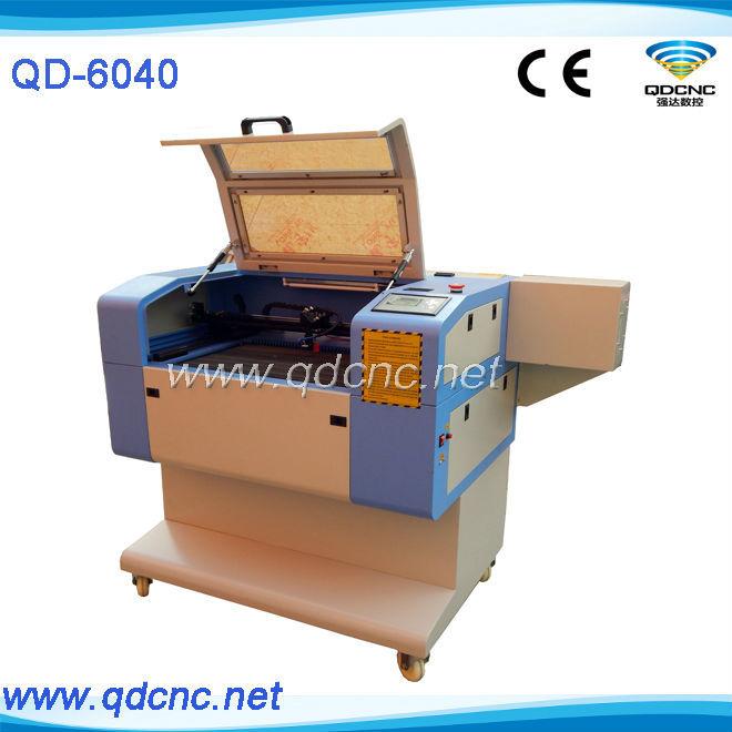 laser cutting machine 6040 / small laser wood engraver QD-6040(China (Mainland))
