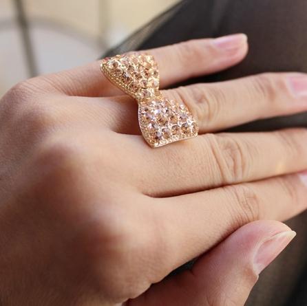 Bowknot Ring Bowknot Ring Gold/silver