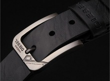Drop shipping!Mens fashion classic simple design leather metal pin buckle jeans belt.Trend mens accessories waist belts for mans