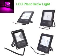 Risparmio energetico ac85-265v 10 w/20 w/30 w/50 w ip65 resistente all'acqua ultra-sottile luce di inondazione del led pianta coltiva la luce idroponica della lampada  (China (Mainland))