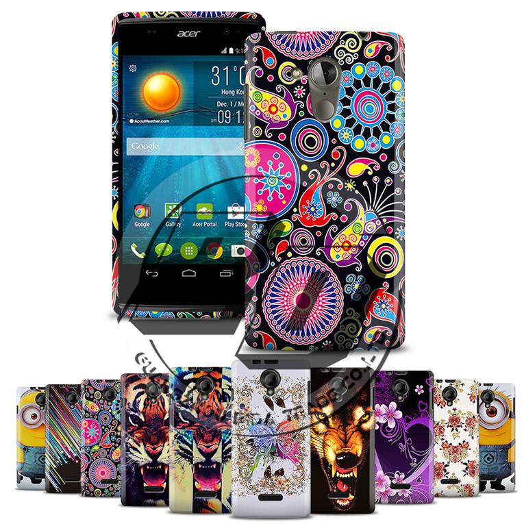For Prestigio Multiphone 5451 Duo Rubber Back Case Fashion Tiger&Wolf&Flower Pattern TPU Soft Case For Prestigio 5451 Duo +Gift(China (Mainland))