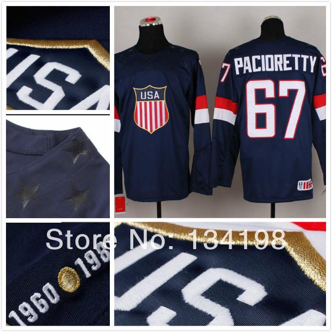 Ice Team Logo Ice Hockey Jerseys Team Usa 67
