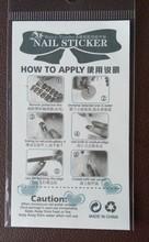 Harajuku Fashion Crystal Diamond Design Nail Art Stickers Minx Manicure Water Transfer Nail Decals Fingernails Decorations
