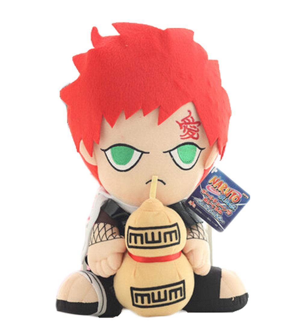 "Japanese anime Naruto plush toy Gaara 12"" tall 36(China (Mainland))"