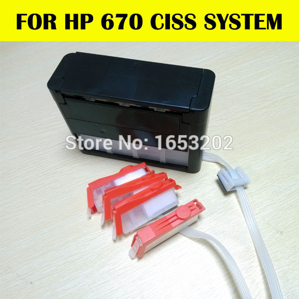 Ciss for hp670 Or ciss system for hp 670 For HP printer 3525 5525 4615 4625
