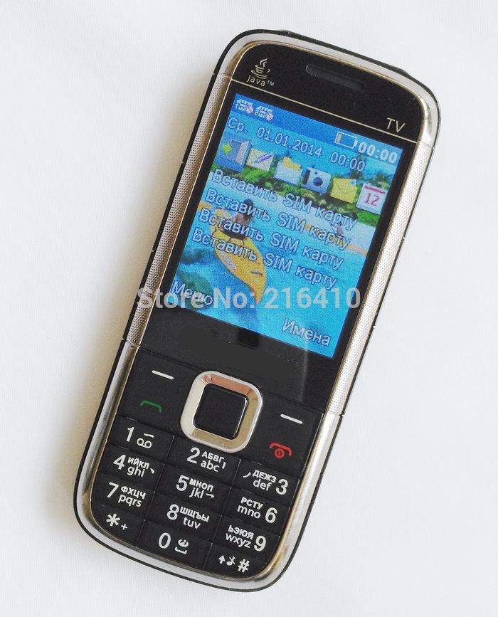 TV 5130 4 Sim Cards 4 Standby Slim Mobile Phone Analog TV Bluetooth Camera MP3 Russian Keyboard cell phone 2 TF card(China (Mainland))