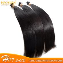 MYM Hair Beauty Tools Free Shipping Brazilian Virgin Hair Straight Hair Extensions Straight Human Hair Weave Brazilian 3 Bundles(China (Mainland))