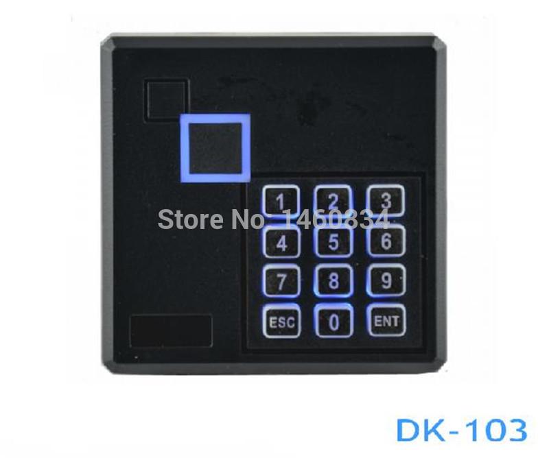 Free Shipping Weigand26 13.56MHZ Outdoor IC Reader RFID Reader + 5pcs MF S50 key(China (Mainland))