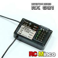 Original Walkera Part RX601 2.4GHz 6CH Receiver for DEVO RC Helicopter Quadcopter Transmitter