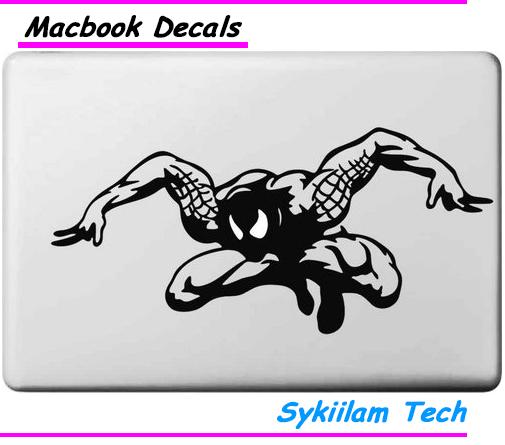 Cartoon Spider Man for apple Sticker Macbook Skin Air 11 12 13 Pro 13 15 17 Retina Decal Computer Wall Car Vinyl Logo Case(China (Mainland))