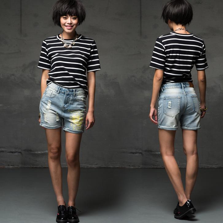What to Wear With Grey Jeans Women Women Ripped Jeans 2015 Wear