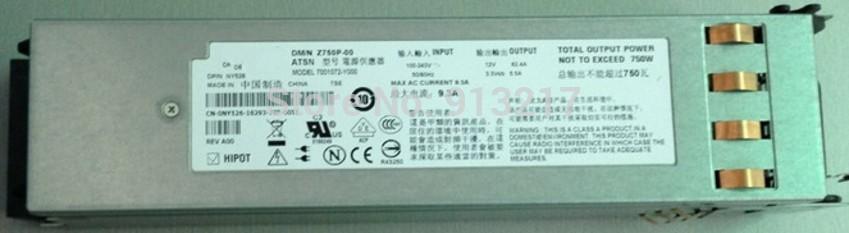 M076R 0M076R CN-0M076R 7001072-Y000 Z750P-00 750W Power Supply for PowerEdge 2950 PSU working DHL EMS free shipping(China (Mainland))