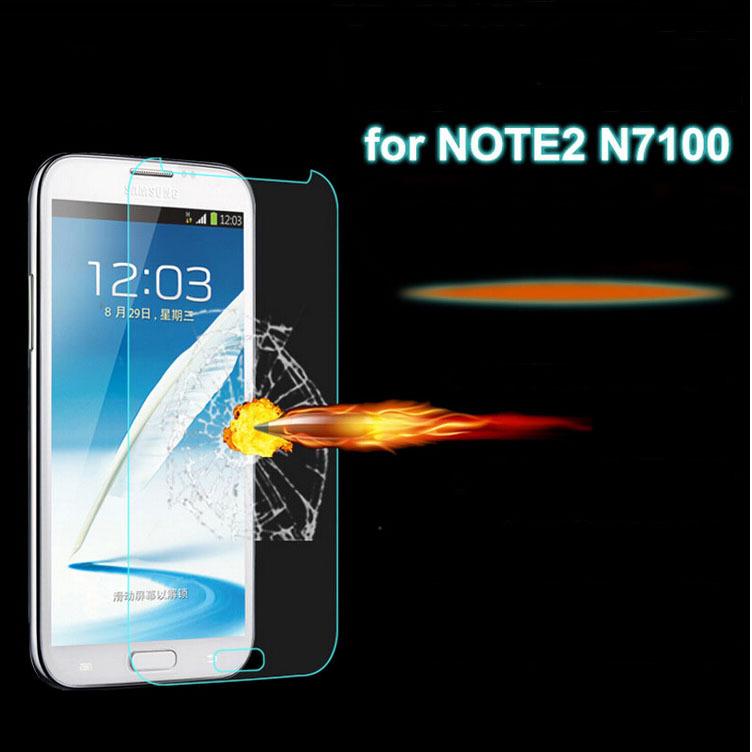 Защитная пленка для мобильных телефонов 0,3 9H LCD HD Samsung 2 N7100 защитная пленка для мобильных телефонов lcd nokia x 2