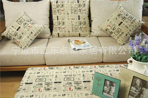 2015 Brief Square Lift/Newspaper Printed Linen Home/Office/Sofa/Car/Beach Decor Cushion Cover/Throw Pillow Case/Pillowcase(China (Mainland))