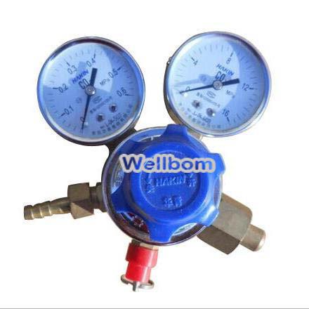 Регулятор давления Wellbom CO2 CO2 CO2 Gas Regulator htp argon co2 mig tig flow meter control valve regulator reduced pressure gas flowmeter welding weld flowmeter