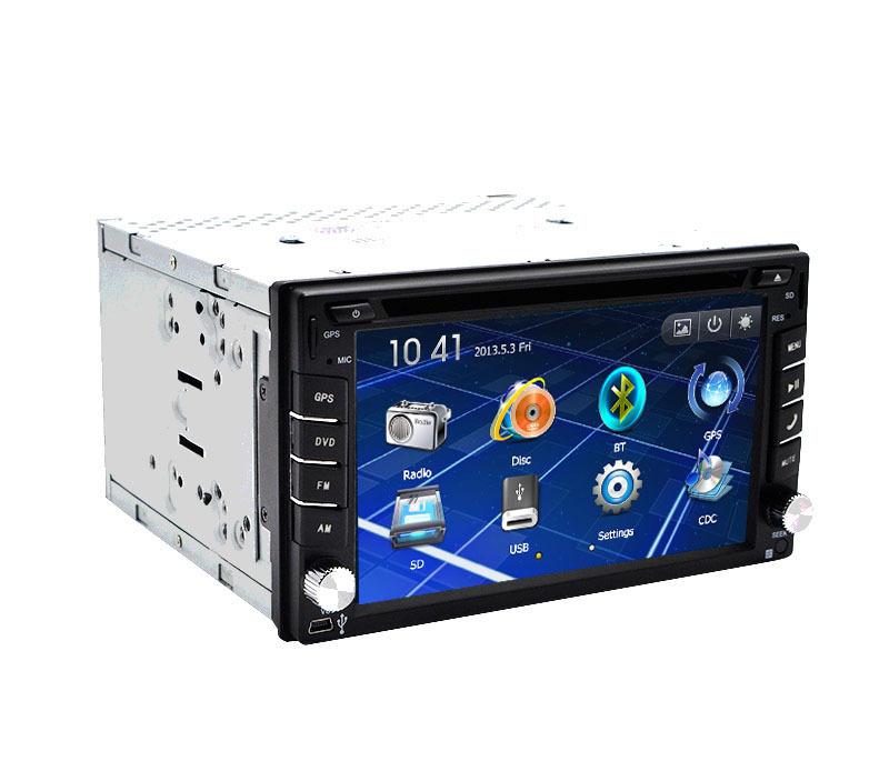 touch screen analog tv car dvd gps player navigation usb sd