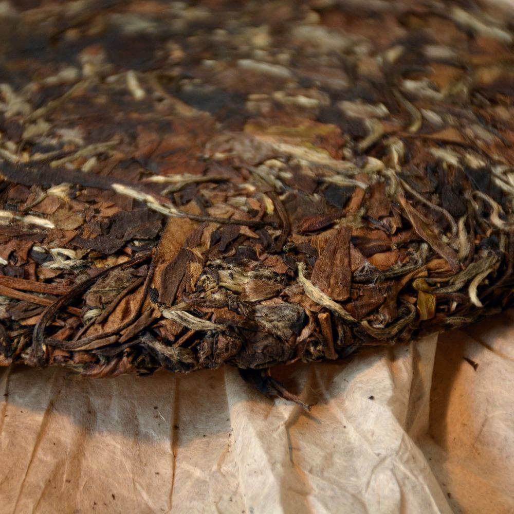 2007 years Aged Organic White Tea 357g Bai Mu Dan Tea Fuding anti cancer White Peony