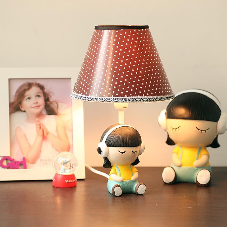 originale e creativo piccola lampada da tavolo camera da letto lampada ...