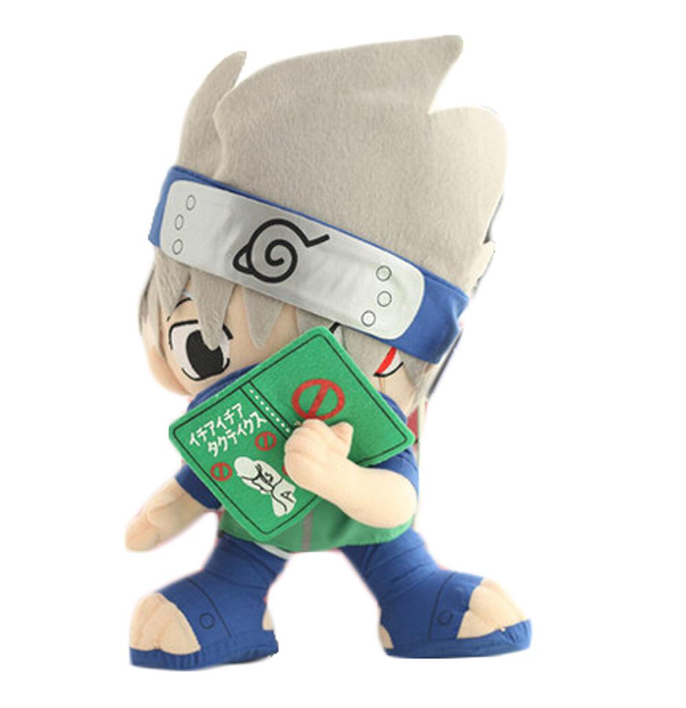 "Japanese anime Naruto plush toy Kakashi Hatake 12"" tall 38(China (Mainland))"
