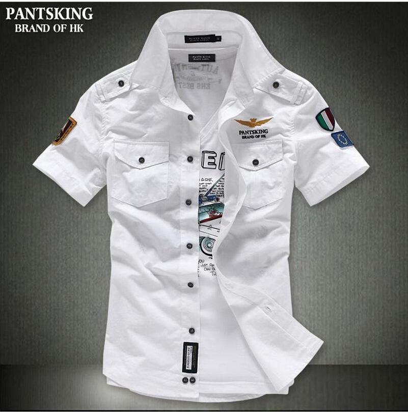 Мужская классическая рубашка Aviation 2015  qt1009-cy60 smc 2015 fs qt 81808