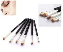 MSQ 1Set / 6 pcs  High Quality  Styling Tools Super soft  makeup brushes set kabuki blush blending eye shadow brush cosmetic