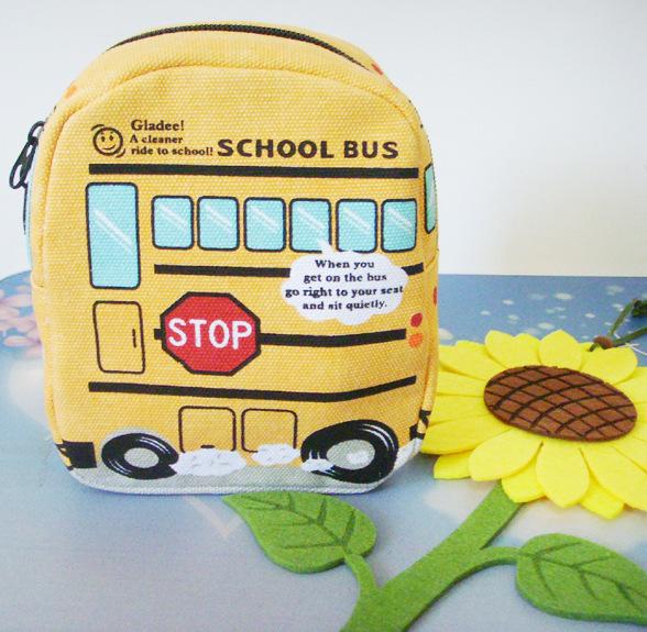 2014 New car yellow almoço sacos para crianças crianças Cute Baby Outdoor Travel Box Thermo Lunchbox Picnic Cooler Bag(China (Mainland))